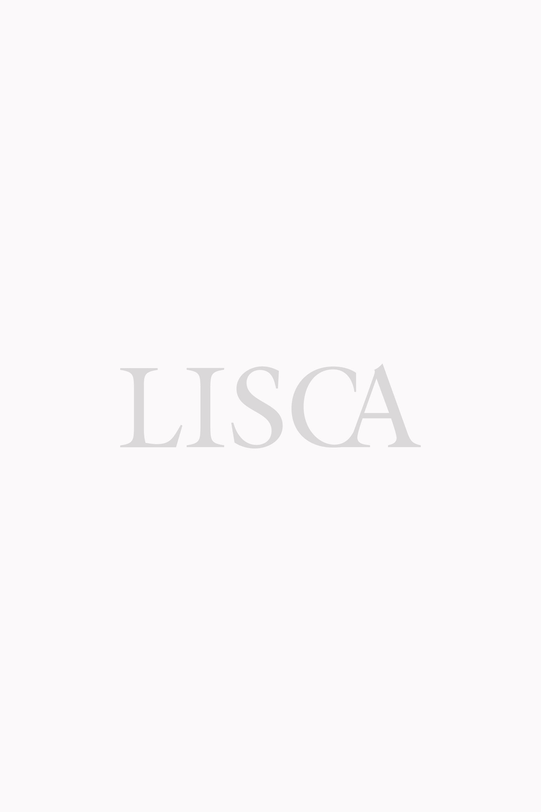 Plavkové vysoké kalhotky »Capri«